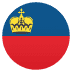 🇱🇮 flag: Liechtenstein Emoji on Joypixels Platform