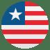 🇱🇷 flag: Liberia Emoji on Joypixels Platform