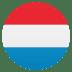 🇱🇺 flag: Luxembourg Emoji on Joypixels Platform