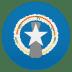 🇲🇵 flag: Northern Mariana Islands Emoji on Joypixels Platform