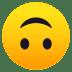 🙃 倒置的脸 JoyPixels平台的表情符号