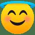 😇 smiling face with halo Emoji on Joypixels Platform