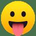 😛 face with tongue Emoji on Joypixels Platform