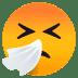🤧 Sneezing Face Emoji on JoyPixels Platform