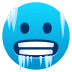 🥶 cold face Emoji on Joypixels Platform