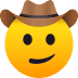🤠 cowboy hat face Emoji on Joypixels Platform