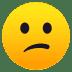 😕 confused face Emoji on Joypixels Platform