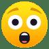 😲 Faccina Stupita Emoji sulla Piattaforma JoyPixels