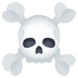 ☠️ skull and crossbones Emoji on Joypixels Platform