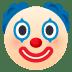 🤡 광대 얼굴 JoyPixels 플랫폼 이모티콘