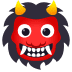 👹 ogre Emoji on Joypixels Platform