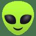 👽 alien Emoji on Joypixels Platform
