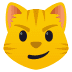 😼 cat with wry smile Emoji on Joypixels Platform