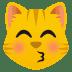 😽 kissing cat Emoji on Joypixels Platform