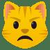 😾 pouting cat Emoji on Joypixels Platform