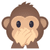 🙊 speak-no-evil monkey Emoji on Joypixels Platform
