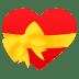 💝 heart with ribbon Emoji on Joypixels Platform