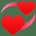 💞 revolving hearts Emoji on Joypixels Platform