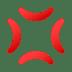 💢 Anger Symbol Emoji on JoyPixels Platform