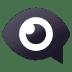 👁️🗨️ eye in speech bubble Emoji on Joypixels Platform