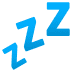 💤 ZZZ Emoji on JoyPixels Platform