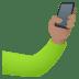 🤳🏽 selfie: medium skin tone Emoji on Joypixels Platform