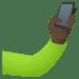🤳🏿 selfie: dark skin tone Emoji on Joypixels Platform