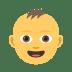 👶 Bébé Emoji sur la plateforme JoyPixels