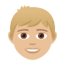 👦🏼 boy: medium-light skin tone Emoji on Joypixels Platform