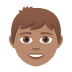 👦🏽 boy: medium skin tone Emoji on Joypixels Platform