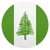 🇳🇫 flag: Norfolk Island Emoji on Joypixels Platform