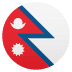🇳🇵 flag: Nepal Emoji on Joypixels Platform