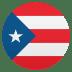 🇵🇷 flag: Puerto Rico Emoji on Joypixels Platform