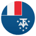 🇹🇫 French Southern Territories Flag Emoji on JoyPixels Platform