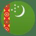 🇹🇲 flag: Turkmenistan Emoji on Joypixels Platform