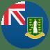 🇻🇬 flag: British Virgin Islands Emoji on Joypixels Platform