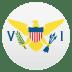 🇻🇮 flag: U.S. Virgin Islands Emoji on Joypixels Platform