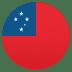 🇼🇸 Samoa Flag Emoji on JoyPixels Platform