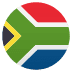 🇿🇦 flag: South Africa Emoji on Joypixels Platform