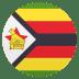 🇿🇼 flag: Zimbabwe Emoji on Joypixels Platform