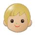 🧒🏼 child: medium-light skin tone Emoji on Samsung Platform