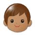🧒🏽 child: medium skin tone Emoji on Samsung Platform
