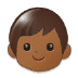 🧒🏾 child: medium-dark skin tone Emoji on Samsung Platform