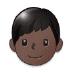 👦🏿 boy: dark skin tone Emoji on Samsung Platform