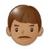 👨🏽 man: medium skin tone Emoji on Samsung Platform
