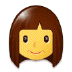 👩 woman Emoji on Samsung Platform