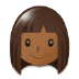 👩🏾 Medium Dark Skin Tone Woman Emoji on Samsung Platform