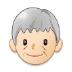 🧓🏻 older person: light skin tone Emoji on Samsung Platform