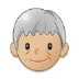 🧓🏼 older person: medium-light skin tone Emoji on Samsung Platform