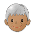 🧓🏽 older person: medium skin tone Emoji on Samsung Platform